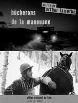 Bûcherons de la Manouane - Documentaire (1963) streaming VF gratuit complet