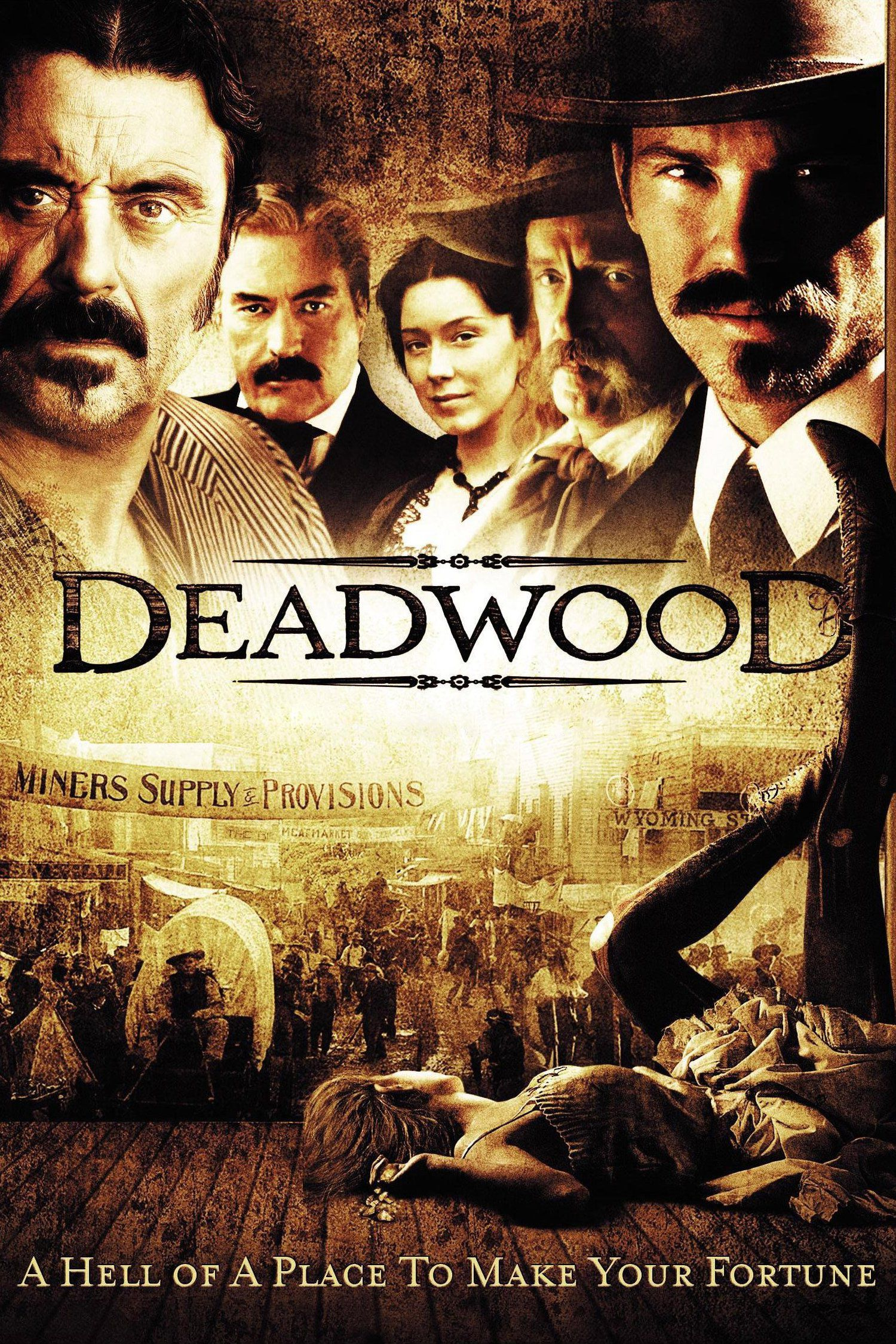 Voir Film Deadwood - Série (2004) streaming VF gratuit complet