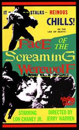 Face of the Screaming Werewolf - Film (1964)
