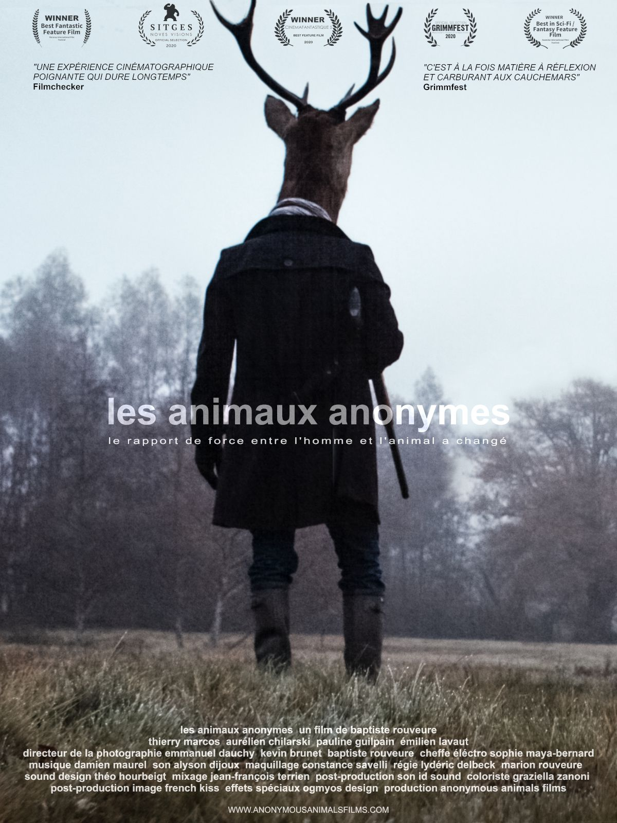 Voir Film Les Animaux anonymes - Film (2021) streaming VF gratuit complet