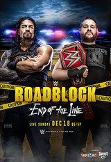 WWE Roadblock : End of the Line - Spectacle (2016) streaming VF gratuit complet